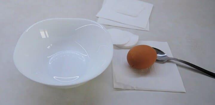 Из яйца и желатина в домашних условиях
