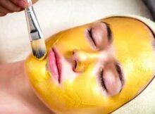 маска для лица с куркумой