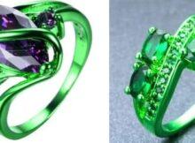 Зеленое золото: что это такое, какой сплав используется, проба зеленого золота, отличия от подделок