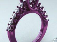 Пурпурное золото ― свойства сплава, как ухаживать за украшением, пробы фиолетового золота