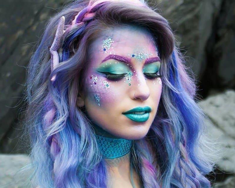 макияж на хэллоуин