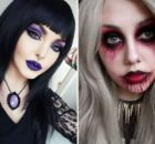 Страшный макияж на Хеллоуин: кошка, дьяволица, русалка, как сделать самый страшный образ